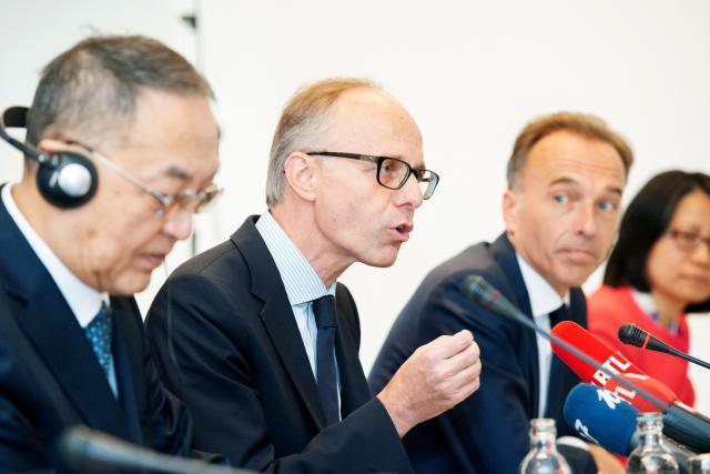 Luc Frieden, président du conseil d'administration de la Bil.