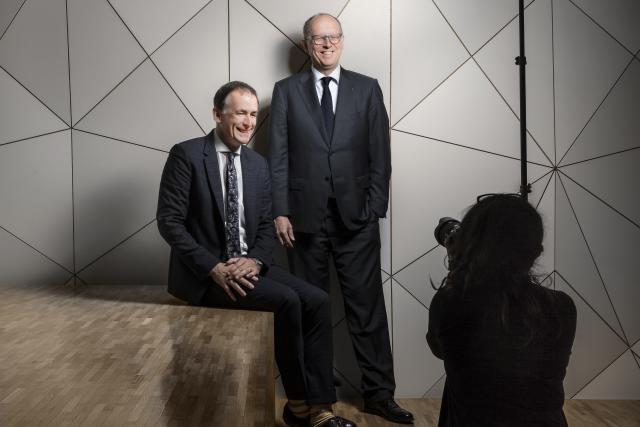 Pit Hentgen et François Pauly sous le feu des projecteurs.