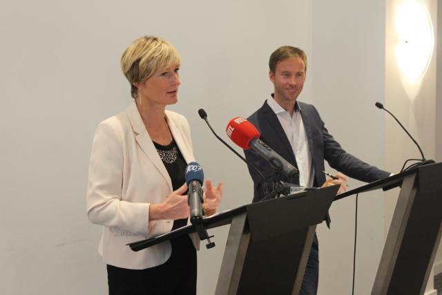 Francine Closener, secrétaire d'État à l'Économie, a présenté le bilan touristique du premier semestre avec Sebastian Reddeker, directeur de Luxembourg for Tourism.
