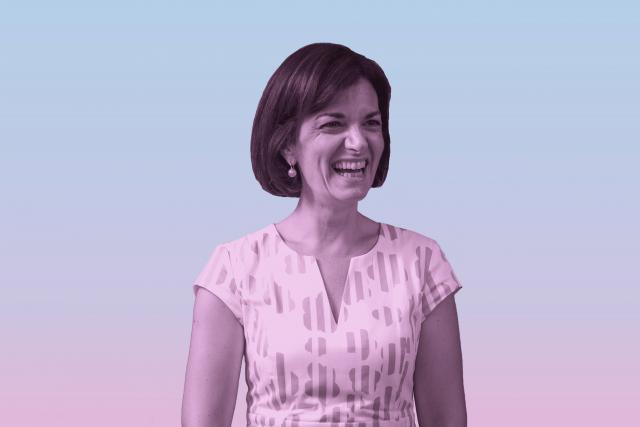 Julie Becker: «Je suis la première femme à la tête de la Bourse, mais en insistant tellement sur le genre, on a tendance à mettre de côté les compétences et l'expérience».