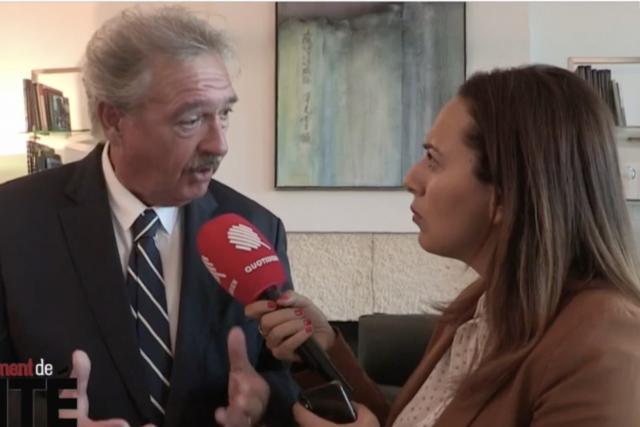Jean Asselborn sur TF1.