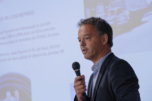 En juin dernier, Michel Reckinger a présenté son projet de lunettes connectées qui bénéficiera du programme «Digital Skills Bridge».