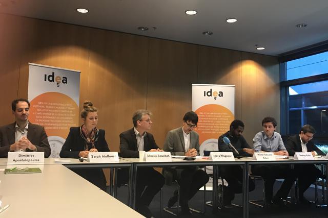 Les auteurs des cinq cahiers thématiques de la Fondation Idea étaient présents lors d'une conférence de presse organisée ce mercredi.