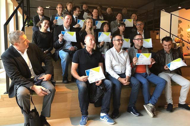 Les 16 start-up sélectionnées étaient réunies lundi soir dans les locaux de Silversquare, à Luxembourg-ville.