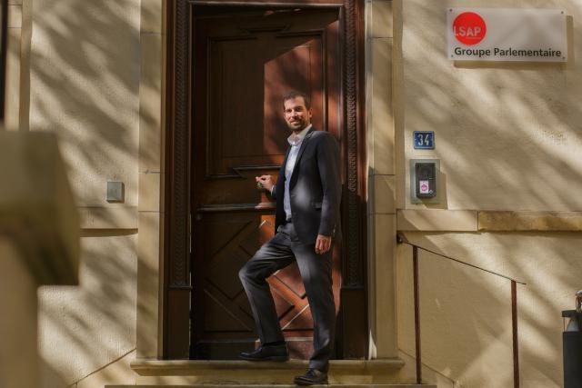 Yves Cruchten: «Je suis fier de mon parti, fier de la mobilisation au sein du parti.»