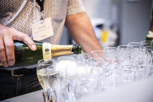 Les Luxembourgeois plébiscitent les champagnes haut de gamme.