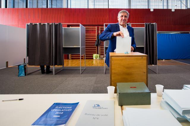 Pour François Bausch, co-tête de liste dans le Centre, une des clés du résultat de Déi Gréng est le fruit de «la méthode» appliquée au cours des cinq dernières années, basée «sur le dialogue et la défense d'une vision claire pour l'avenir».