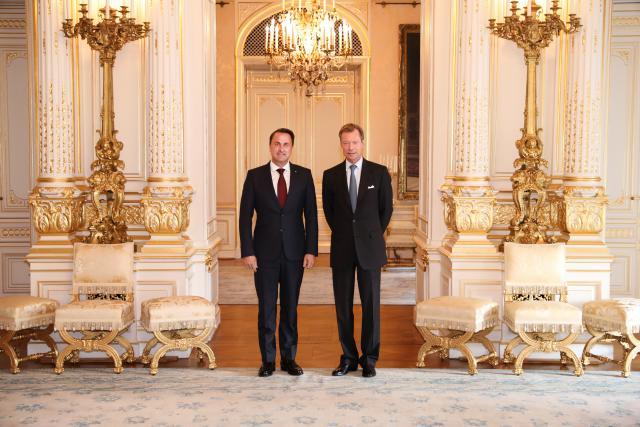 Xavier Bettel, nommé formateur du nouveau gouvernement, devrait également conserver son poste de Premier ministre.