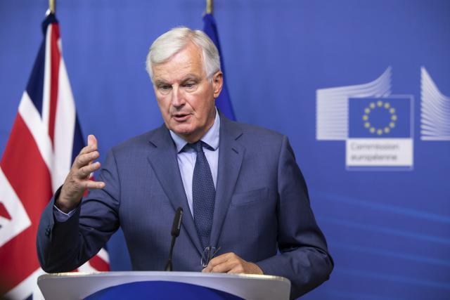 Michel Barnier, négociateur en chef de l'UE