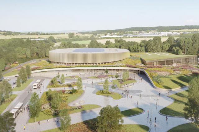 Le budget alloué pour ce projet est de 61 millions d'euros.