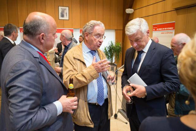 Claude Wiseler et Marc Spautz, CSV