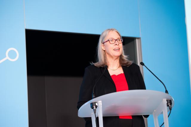 Denise Voss, présidente de l'Alfi, a pointé la forte progression des fonds alternatifs basés au Luxembourg.