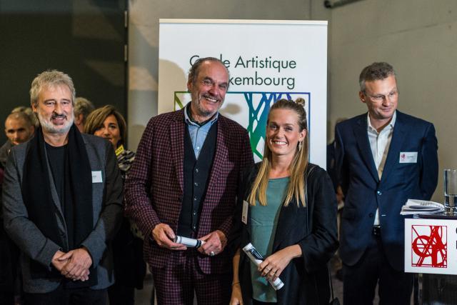 Roland Schauls et Sandra Lieners sont les lauréats du Prix Werner 2018.