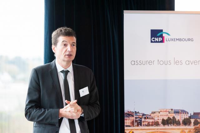 Jean-Mary Castillon, directeur général de CNP Luxembourg.