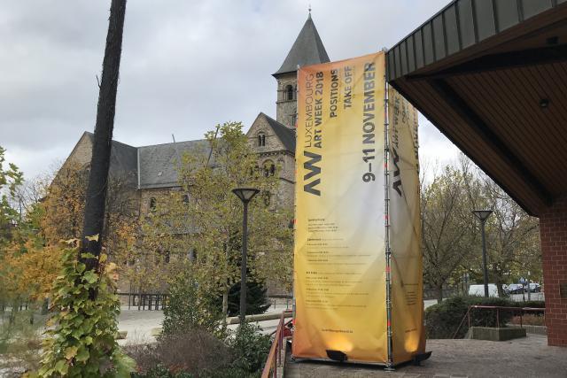 Des conférences sur le monde de l'art sont organisées dans le cadre de Luxembourg Art Week 2018