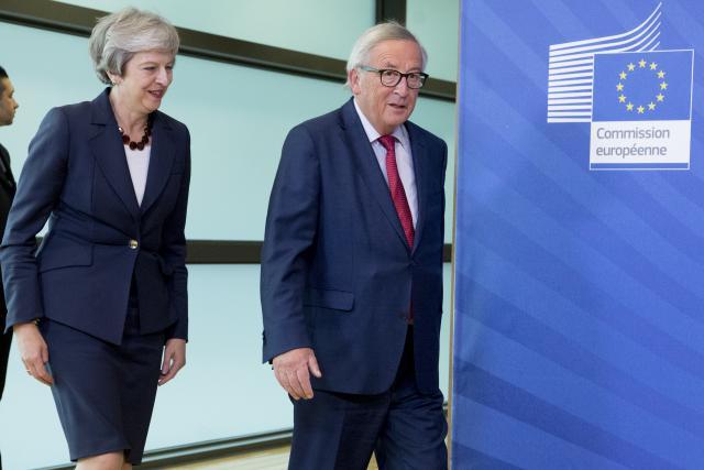 Theresa May revient cette semaine à Bruxelles pour rencontrer Jean-Claude Juncker.