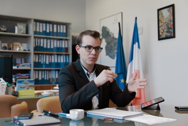 «Avoir une cohérence urbanistique est l'enjeu majeur de Florange, et tous les sujets tournent autour de cela: l'A31 bis, la présence d'ArcelorMittal sur notre territoire, La Passerelle», explique Rémy Dick.