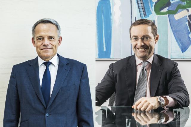 Guy Hoffmann, président de l'ABBL, et Keith O'Donnell, managing partner d'Atoz.