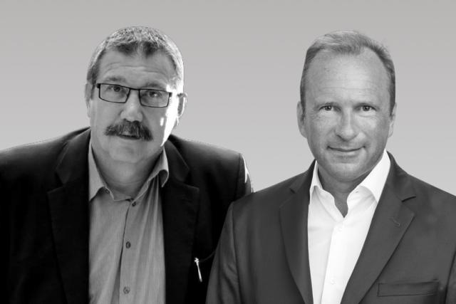 Claude Rolin et Gilles Roth sont en désaccord sur la question de la fiscalité européenne.