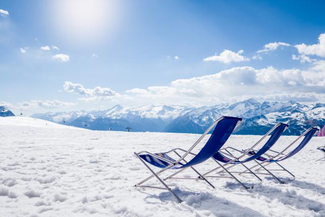 Vacances, Ski
