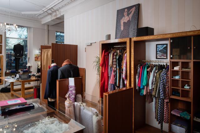 Mobilisation – La création d'une coopérative a permis de sauver l'activité de la boutique Eva Ferranti, place du Théâtre.