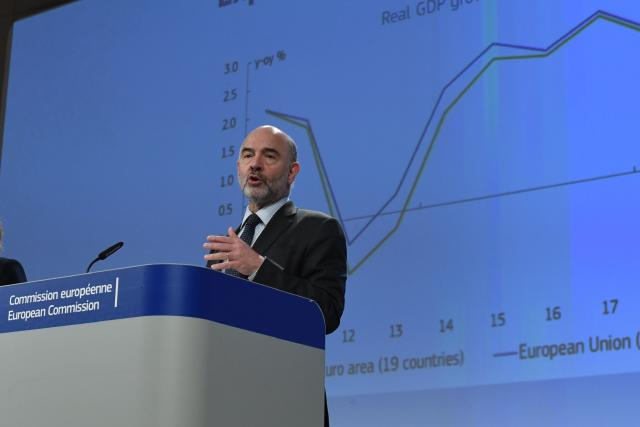 Pierre Moscovici, Commission européenne