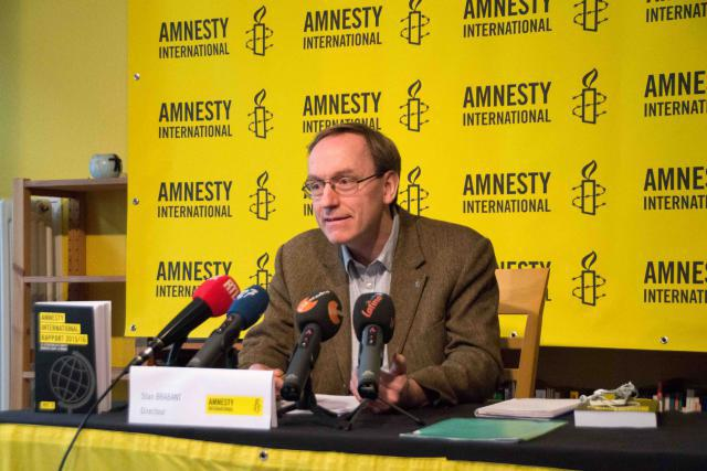 Stan Brabant, Amnesty International