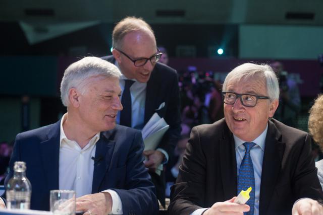 Claude Wiseler, Luc Frieden et Jean-Claude Juncker