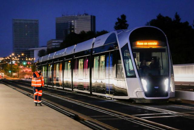 Tram Luxembourg Pont Rouge