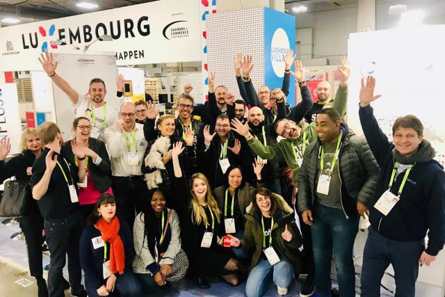 Les 16 start-up qui font partie du Luxembourg Village au CES 2019 de Las Vegas sont prêtes.