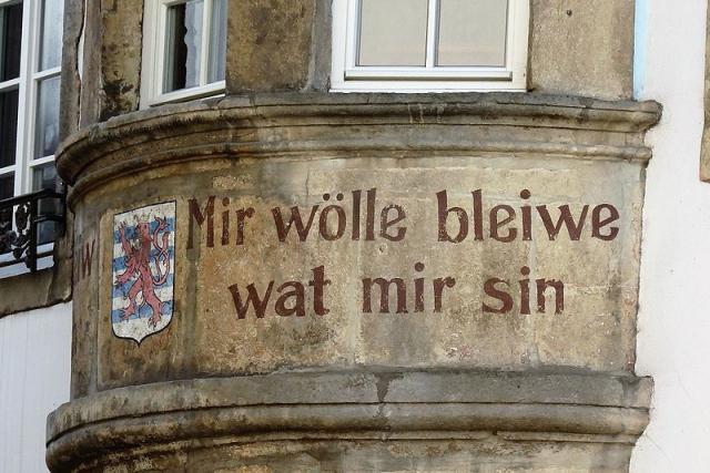 Les Luxembourgeois ne pourront pas rester ce qui ils sont s'ils veulent garder ce qu'ils ont.
