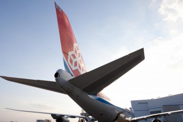 La nouvelle génération de 747-8F est moins gourmande en carburant et plus respec