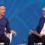 Mark Zuckerberg et Maurice Lévy