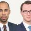 Nathaël Malanda et Maurice Macchi, orateurs - étude d'avocats Allen & Overy