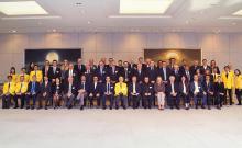 La délégation luxembourgeoise en visite au Japon