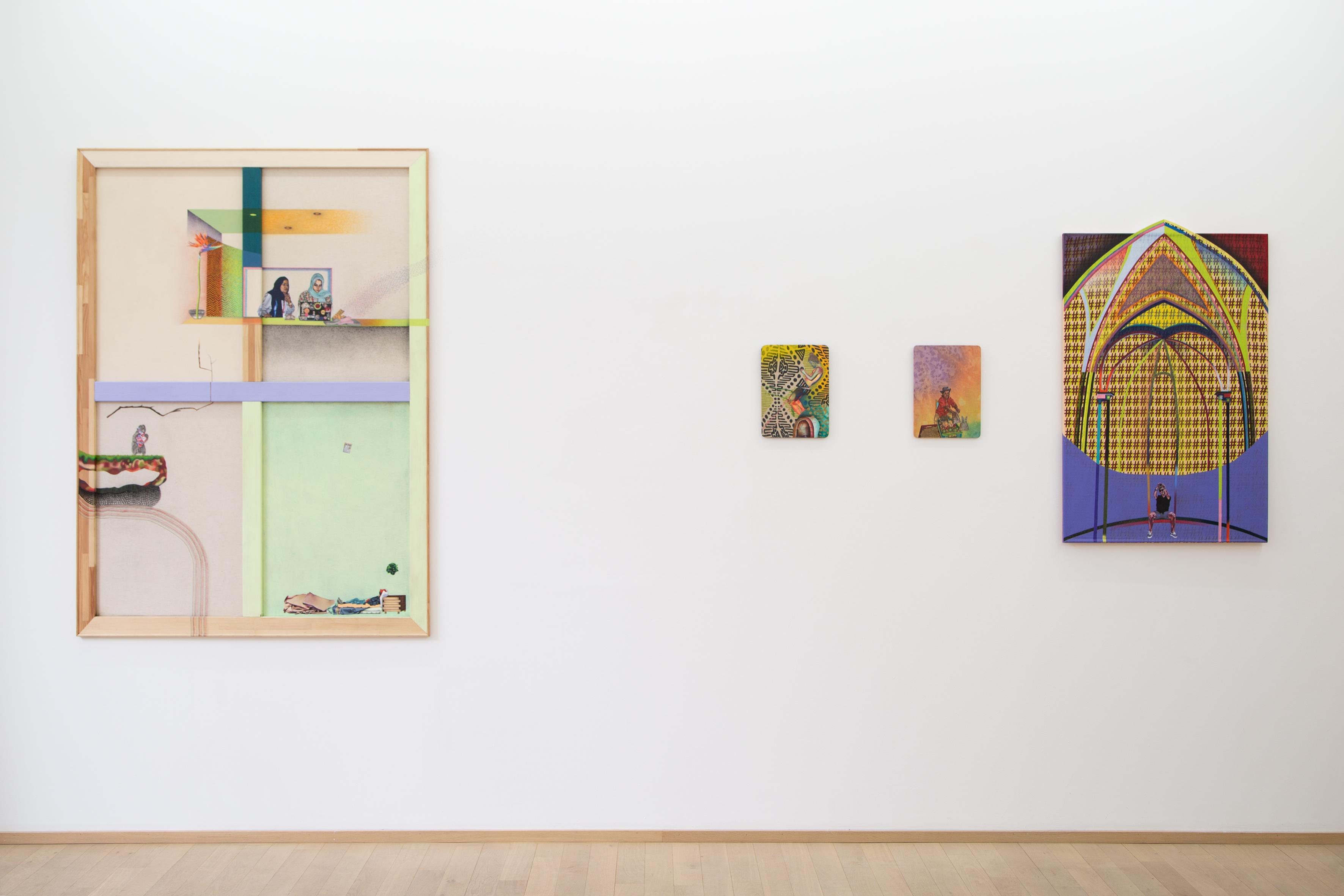 Nina Tomàs, vues de l'exposition «Logiques du flou», Nosbaum Reding Projects, Luxembourg, 2019. (Photo: Tania Bettega/Nosbaum Reding, Luxembourg)