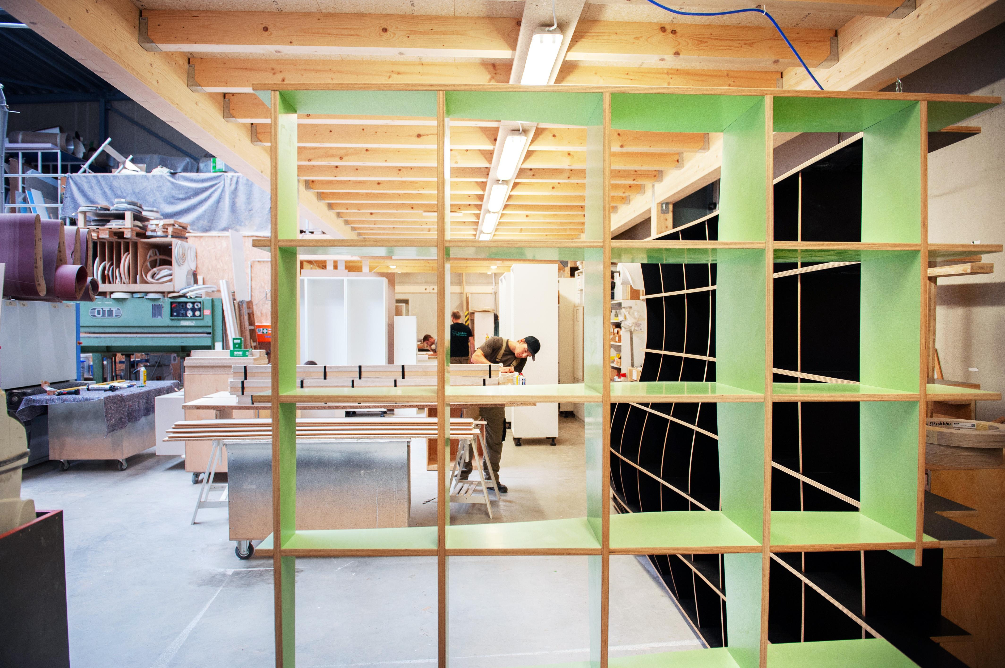 Les meubles sont réalisés en collaboration avec des designers ou des architectes d'intérieur (Photo: Lala La Photo)